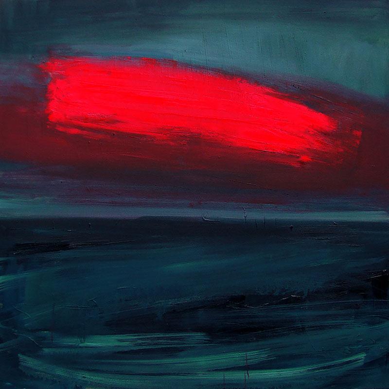 Czerwona chmura II, 2016