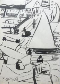 Przystań, 1963 r.