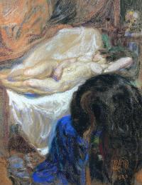 Odpoczywająca, 1923 r.