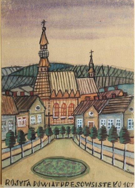Kościół w miasteczku