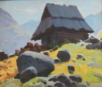 Szałas w górach