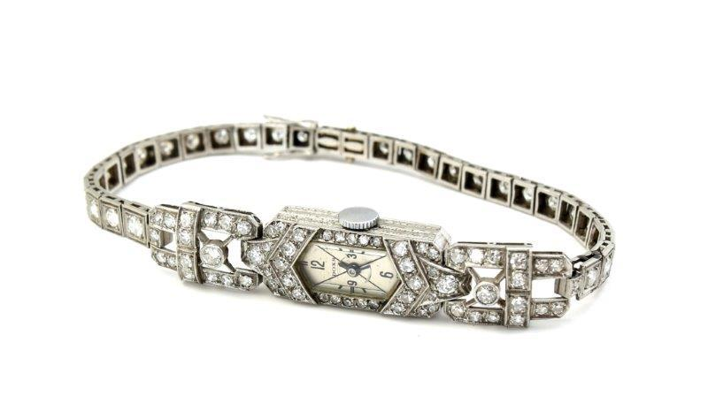 Zegarek platynowy damski Doxa