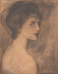 Portret kobiety, 1896 r.