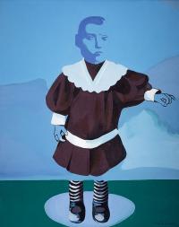 Portret stojący, 1973