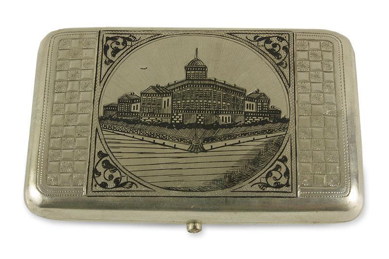 Papierośnica niellowana, Rosja, Moskwa, 1896-1908 r.