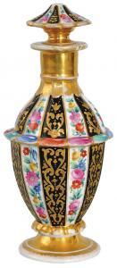 Flakon toaletowy, Rosja, Gardner, 1810-1840