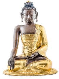 Budda Sakjamuni, Sino-Tybet, 18 w.