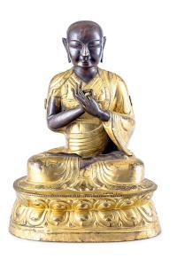 Lama, Tybet, 18 w.