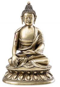 Budda Sakjamuni, Sino-Tybet, 18/19 w.