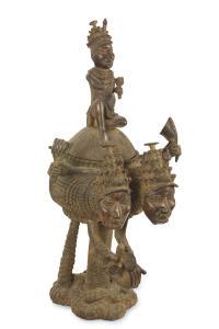 Naczynie obrzędowe, Benin (Nigeria), I ćw. 20 w.