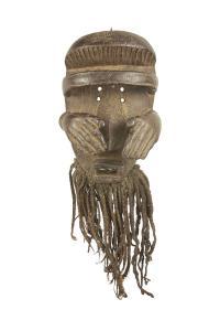 Maska rytualna plemienia Bete, Wybrzeże Kości Słoniowej, I poł. 20 w.