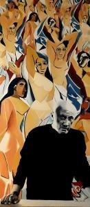 Picasso i jego Panny z Avignon, 2015