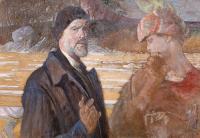 Autoportret ze św. Agnieszką