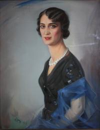 Portret kobiety, 1938 r.