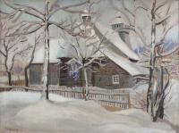 Kościółek na Podhalu, 1931 r.