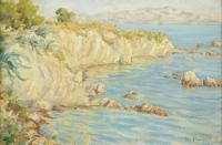 Split- Skalisty brzeg Adriatyku, 1928 r.