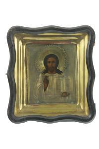 Ikona Chrystus, Rosja, pocz. XX w.