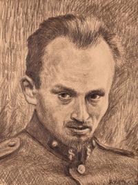 Autoportret, 1944 r.
