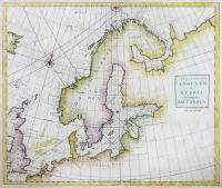 A general chart from England to Russia including the Baltick Sea
