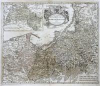 Tabula Geographica, Totam Borussiam ut et Districtum Notecensem exhibens