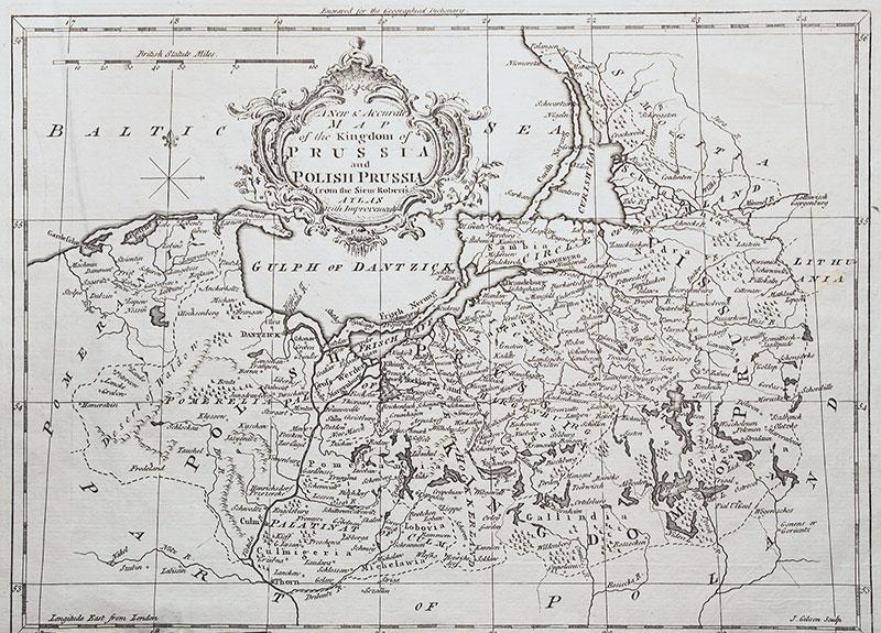 A New & Accurate map of the Kingdom of Prussia and Polish Prussia?