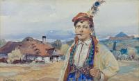 Portret krakowiaka, 1917 r.
