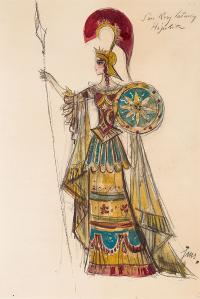 Hipolita-projekt kostiumu do Snu Nocy Letniej