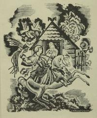 Krakowskie zaloty, ok. 1930 r.