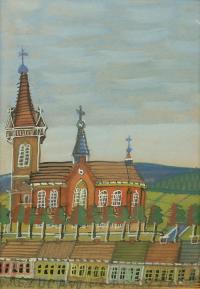 Kościół z trzema wieżami