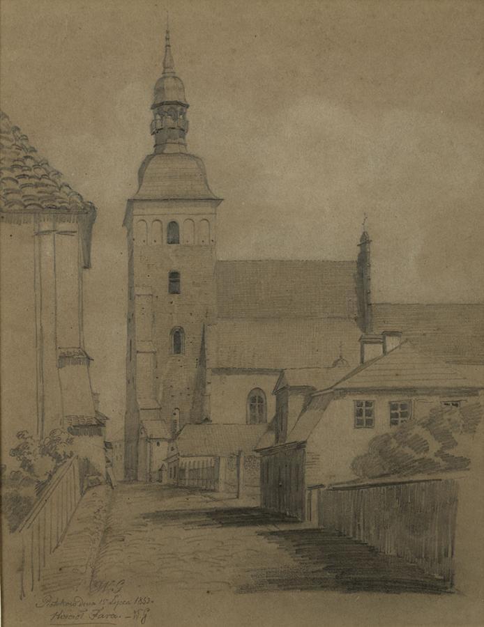 Fara w Piotrkowie, 1853 r.