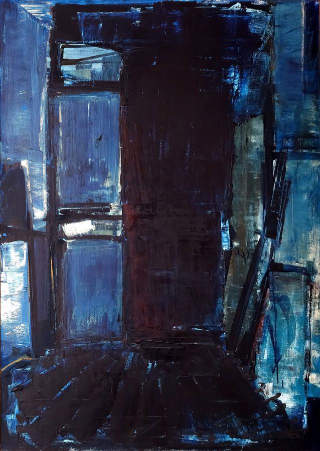 Wnętrze niebieskie, 1992