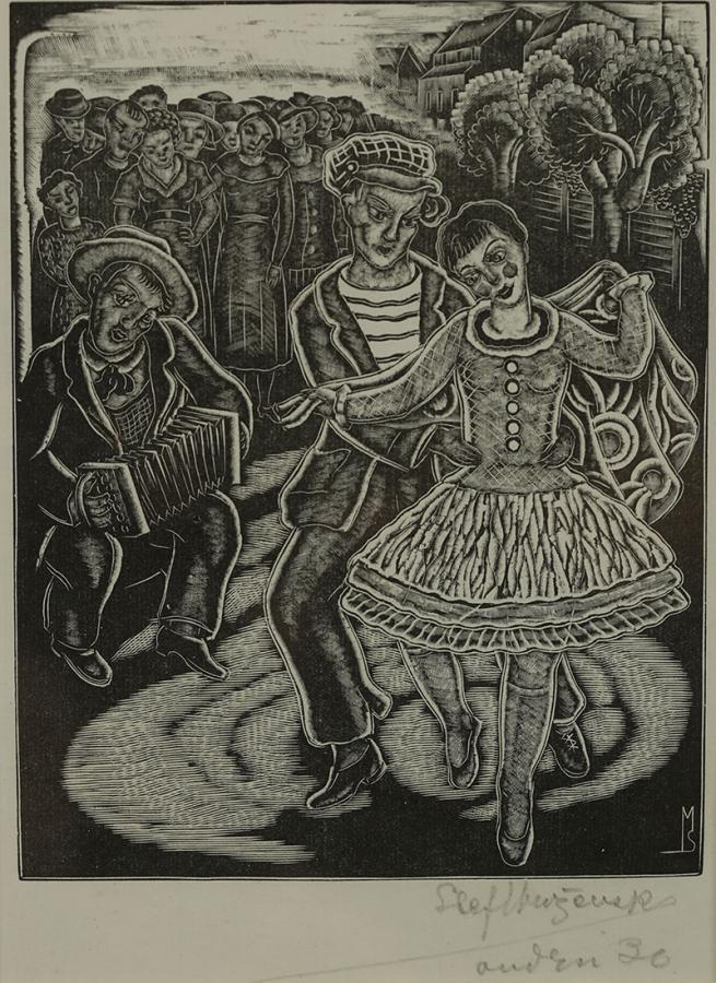 Zabawa, 1936 r.