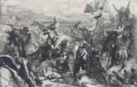 Bitwa pod Warną wg Jana Matejki