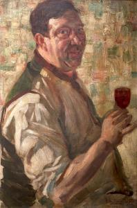 Pijący (Portret Henry`ego Carra), 1912 r.