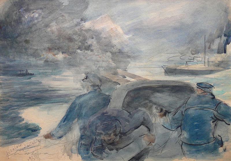 W zatoce gdańskiej, 1939 r.