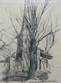 Dzwonnica przy klasztorze tuchowskim