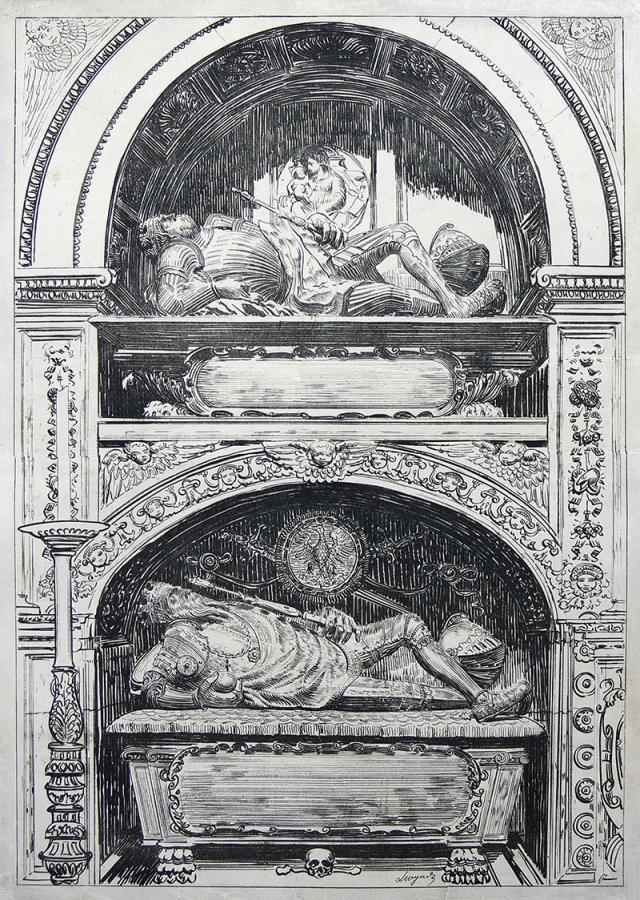 Nagrobki królewskie w Kaplicy Zygmuntowskiej