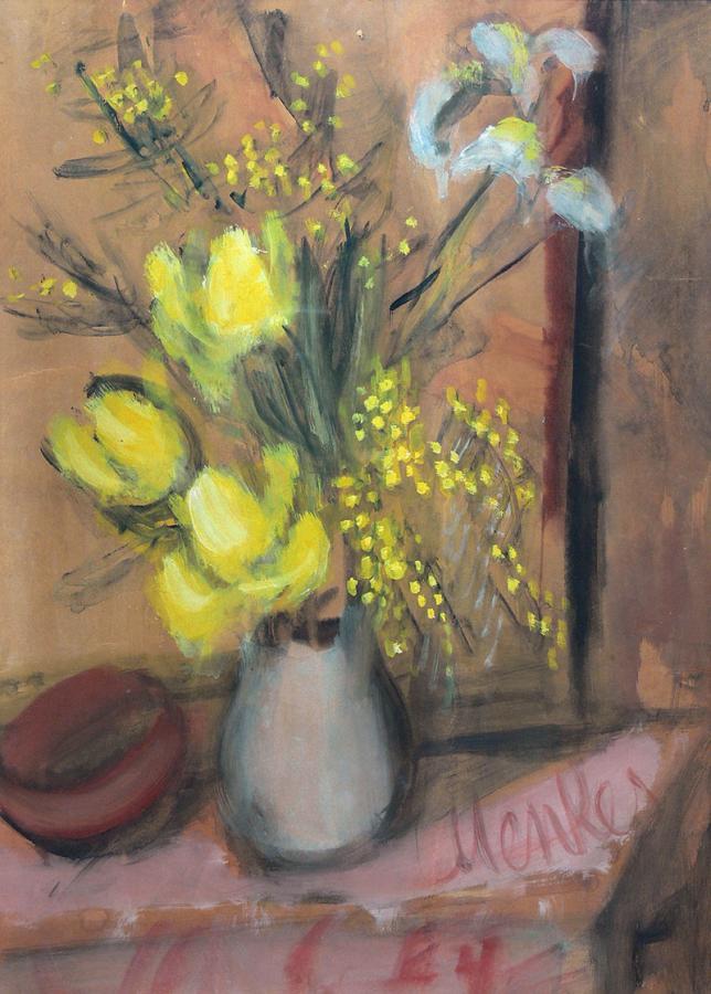 Bukiet kwiatów w wazonie