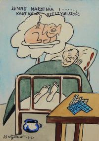 Senne marzenia i…kartkowa rzeczywistość, 1941 r.