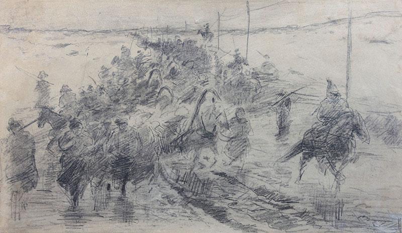 Pochód wygnańców 1863 roku na Sybir