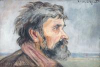 Portret mężczyzny, 1923 r.