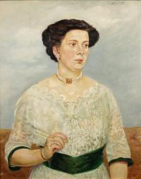 Portret damy (pani Generałowa), 1915 r.