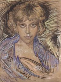Portret Zofii Bagniewskiej, z domu Małeckiej, 1927 r.