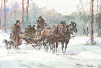 Scena z polowania