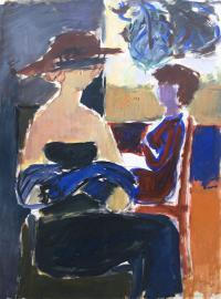 Dwie postaci, 1952 r.