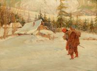 Zima w Tatarowie