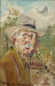 Autoportret, 1969 r.