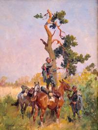 Na zwiadach, 1919 r.