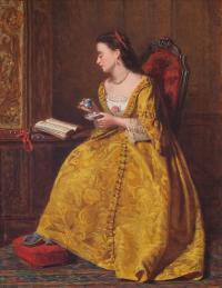 Zaczytana, 1867 r.