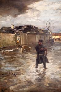 Przed karczmą, przed 1883